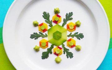 25.新鮮野菜でつくる、お皿の上の味わうアート - 上京OPENWEEK2018