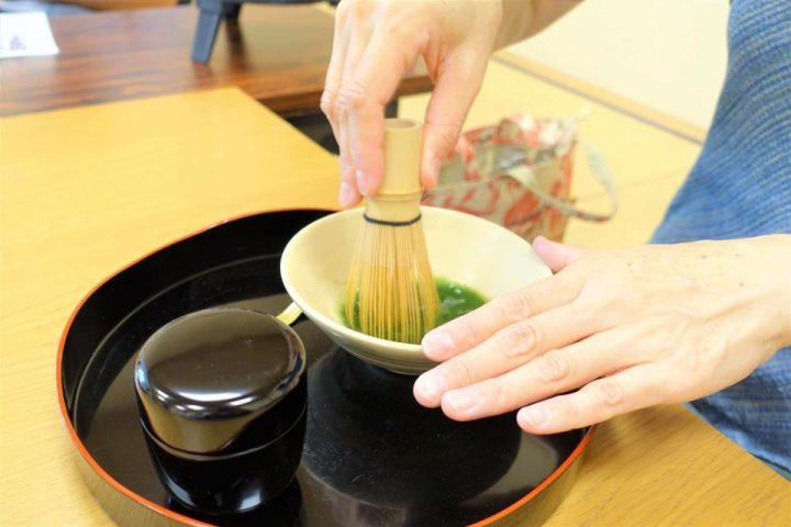 5.上京朝まっ茶カフェ